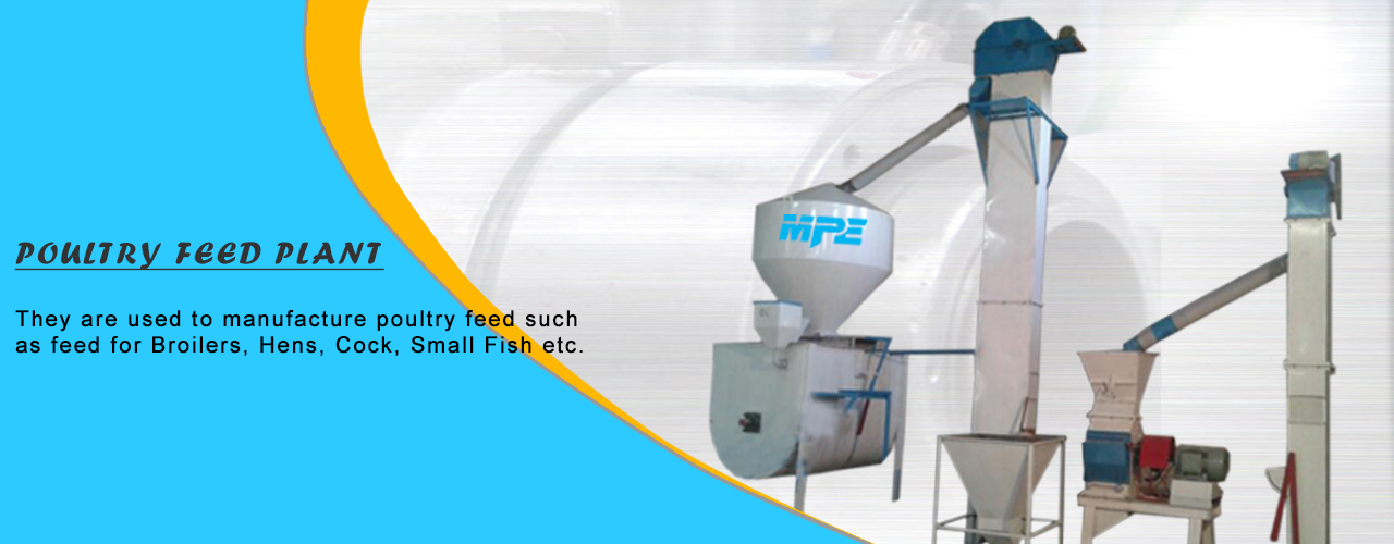 Poultry Feed Plant Banner